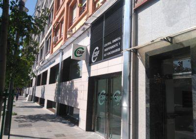 Reforma de oficinas del CSI-F